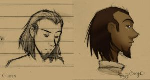 Clopin sketches.. by wings33