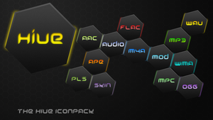 Aimp 3 The Hive icons by ImpulseWolf