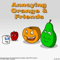 Annoying Orange by TheRealSneakers