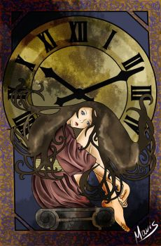 Clock by Lucy-LeCroix