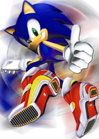 SA2 Sonic picture EDIT by Mardic