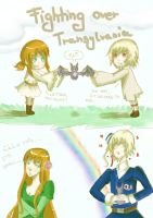 Fighting over Transylvania by pink4ever4u