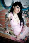 Hayley - Tattoo Shots II by paradoxphotography