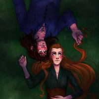 Tauriel and Kili by trasigpenna