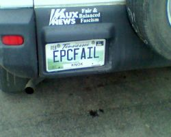 Awesome License Plate by aquamarinepond