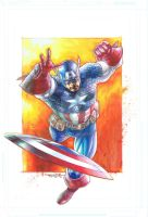 Captain America by sjsegovia