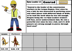 Gym Leader #1: Conrad (Ground Type) by OverpoweredClefairy