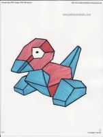 Porygon by kittyk2000