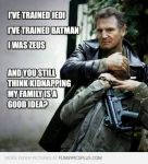 Liam Neeson by AndyBsGlove