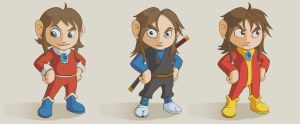 Alex Kidd Deviations by stinkylando