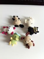 Super best friends tiny amigurumi plush collection by Rienei