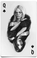 queen of spades by fishboo