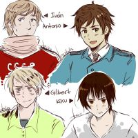 Sketch - practicing Hetalia - 2nd pic by AkariMarco