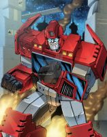 LFCC Exclusive Ironhide Print by wordmongerer