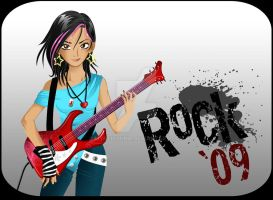 Rocker girl by MysticYuna