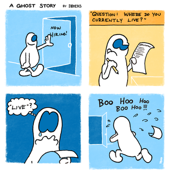 A Ghost Story #1 by dbdoodles