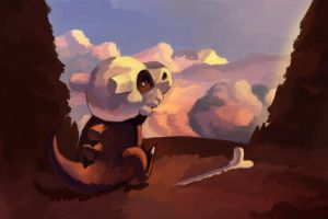Cubone by BlackjackConcpiracy