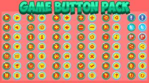 Free Game Button Pack by pzUH