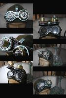 Steampunk Cyborg Goggles More by pinochioO-5