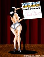 100,000 Pageviews by ImfamousE