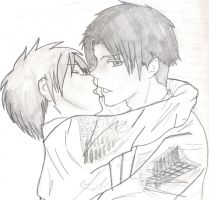 Ereri by coolidontgiveafuck94