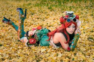 Poison Ivy Steampunk Cosplay by Adelbra
