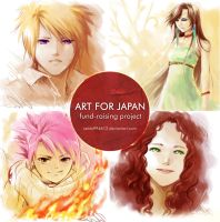 Art for Japan IV by zeldacw