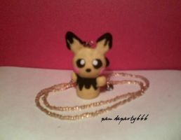 Pichu Necklace Pendant by pandaparty666