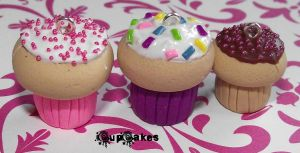 Clay CupCakes by funkypinkgal