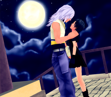 Request Riku x Xion by VirtuousNamine