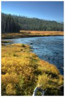 Fall on the Lewis River by wyorev