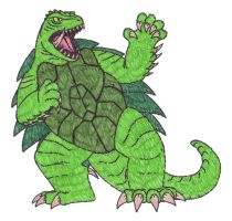 GOTU: Gamera by DinoHunter2