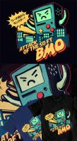 AT Shirt- Attack of the 50 Ft BMO by mayukichan
