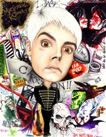 Gerard Way: Caricature FINAL by GeeFreak
