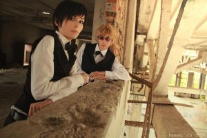 Izaya and Shizuo by Prince-Lelouch