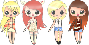 4 Humanoid Adopts [2/4 OPEN] by Adopt-LM