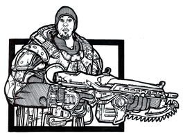 Gears Of War Inked by MacabreHeretic