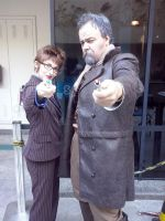 10th and War Doctor by jeffduck
