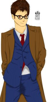 10th Doctor by NaruuXan