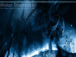 Illidan Stormrage by Solozzo