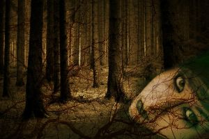 Maiden of the forest by haunted-medea