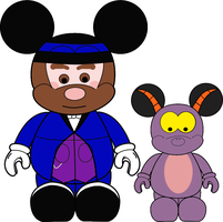 VinylmationDreamfinder Figment by wilterdrose