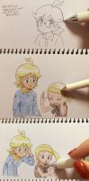 bonnie and Clemont by jadenyuki101