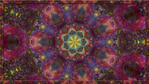 Psychedelic Wallpaper II by eccoarts
