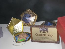 Harry Potter Chocolate Frog by ShipperTrish