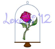 Graphic Design - Enchanted Rose - 2012 by Lokotei