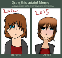 Draw this again meme by Zo-Yo