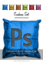Cushion Set CS4 ICONS by JohnAppleMan
