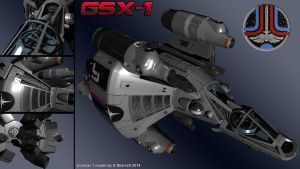 GSX-1 Glory Shot by dsherratt74