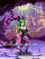 morrigan animated HD by Zurfergoth
